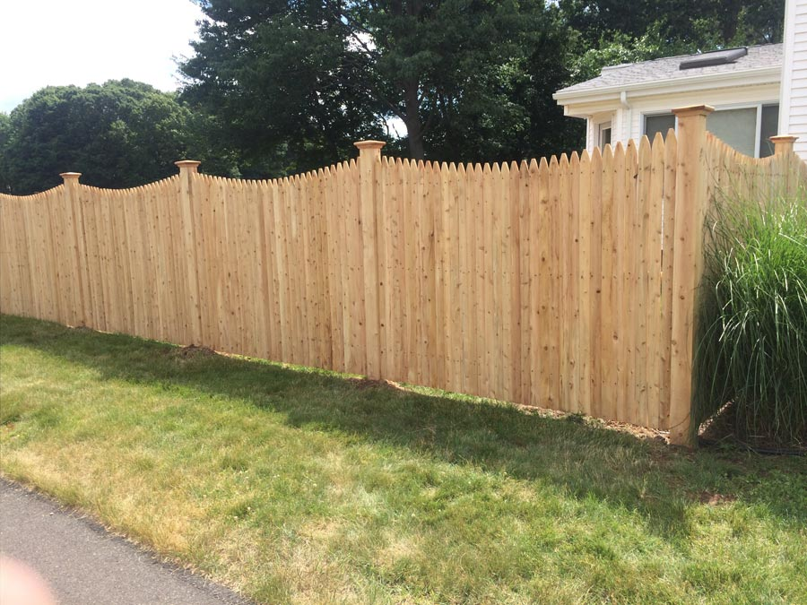 Fence One South Windsor Ct Wood Fencing Connecticut Fence